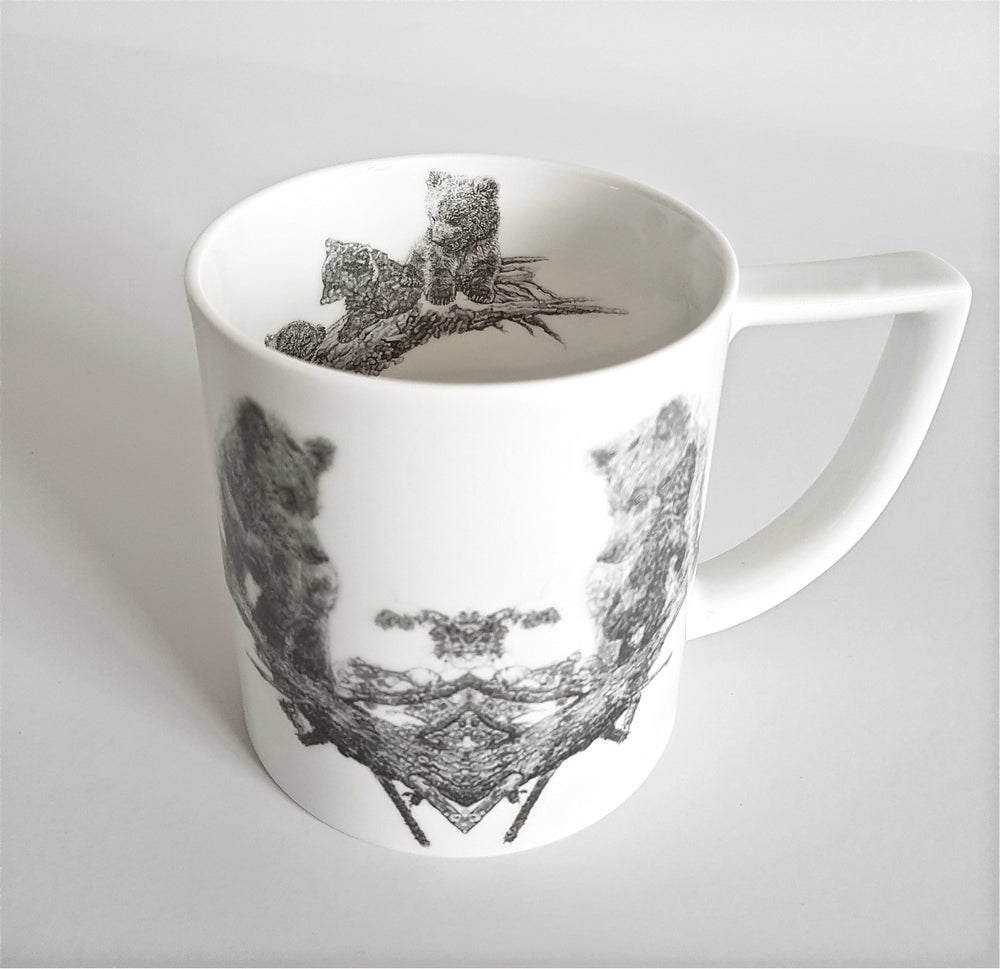 Image of THE ORPHANS FINE ENGLISH BONE CHINA MUG