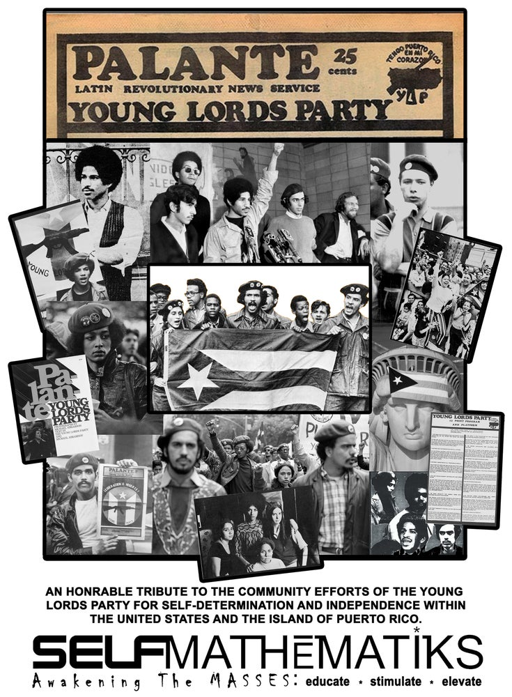 Image of WHITE- YOUNG LORDS PARTY CLASSIC T ORIGINAL- LIMITED SPECIAL EDITION