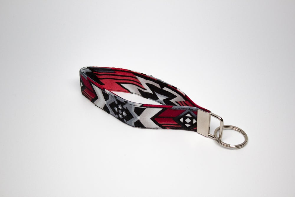 "Image of ""Navajo Dimensions"" Key Fob Wristlet"