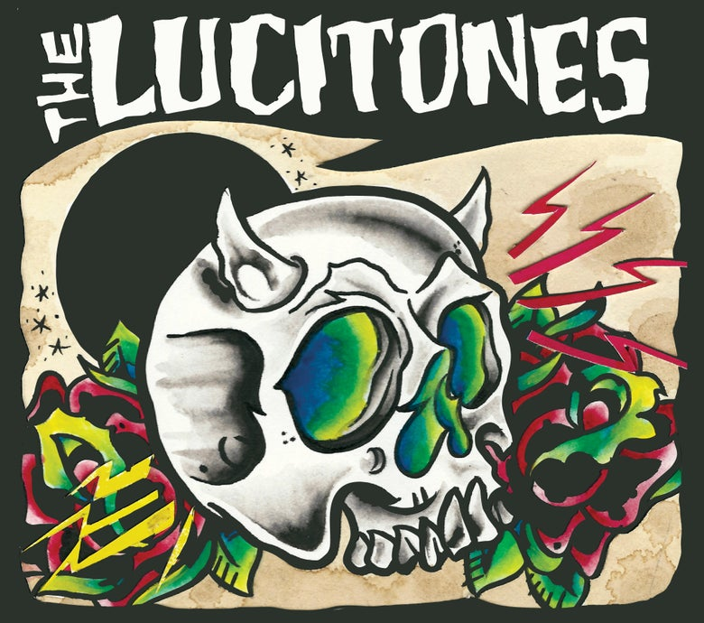 "Image of The Lucitones - ""Self-titled"" 2017 CD"