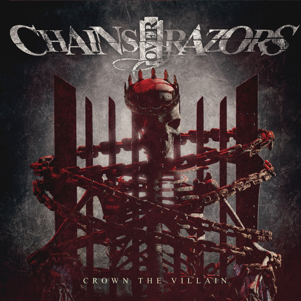 Image of Chains Over Razors - Crown The Villain Signed CD