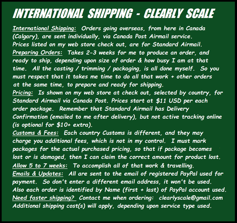 Image of *MUST READ* INTERNATIONAL SHIPPING BULLETIN