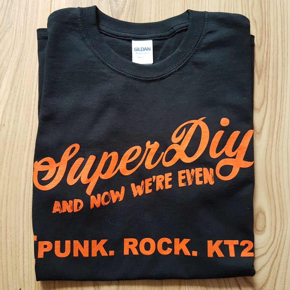 Image of SuperDiy 'PUNK.ROCK.KT2.' T-Shirt
