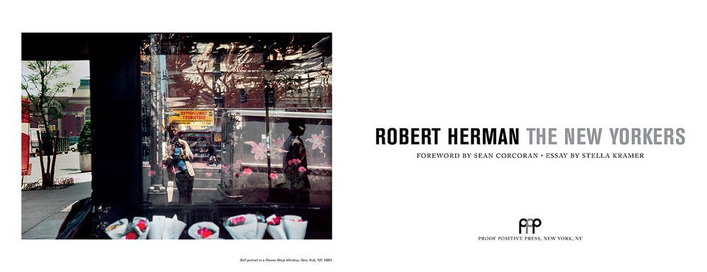 Image of The New Yorkers by Robert Herman signed