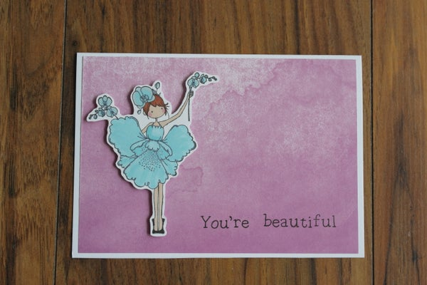 Image of YOU'RE BEAUTIFUL CARD