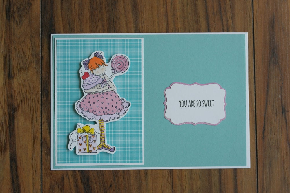Image of YOU ARE SO SWEET CARD