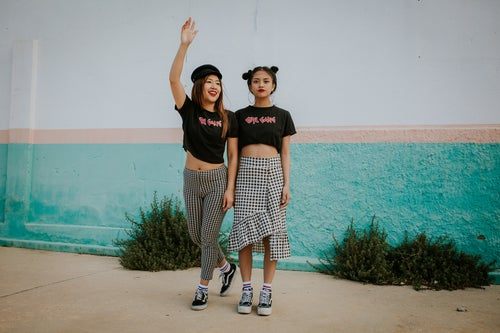 Image of GIRL GANG Crop Top
