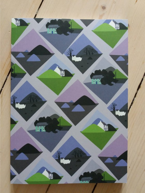 Image of Softback A5 notebooks - all over patterns