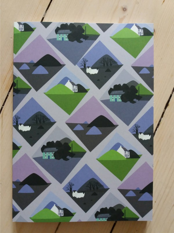 Image of Purple Landscapes Notebook