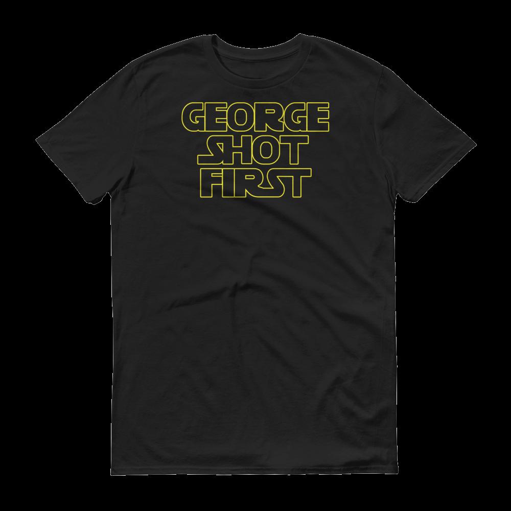 Image of Logo Tee -- Short Sleeve T-Shirt (Dark Side Black)