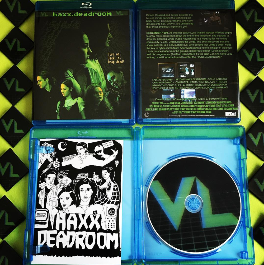 Image of //HAXX DEADROOM// ~ Limited Edition Blu Ray