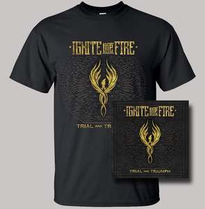 Image of Trial and Triumph CD + Shirt Combo