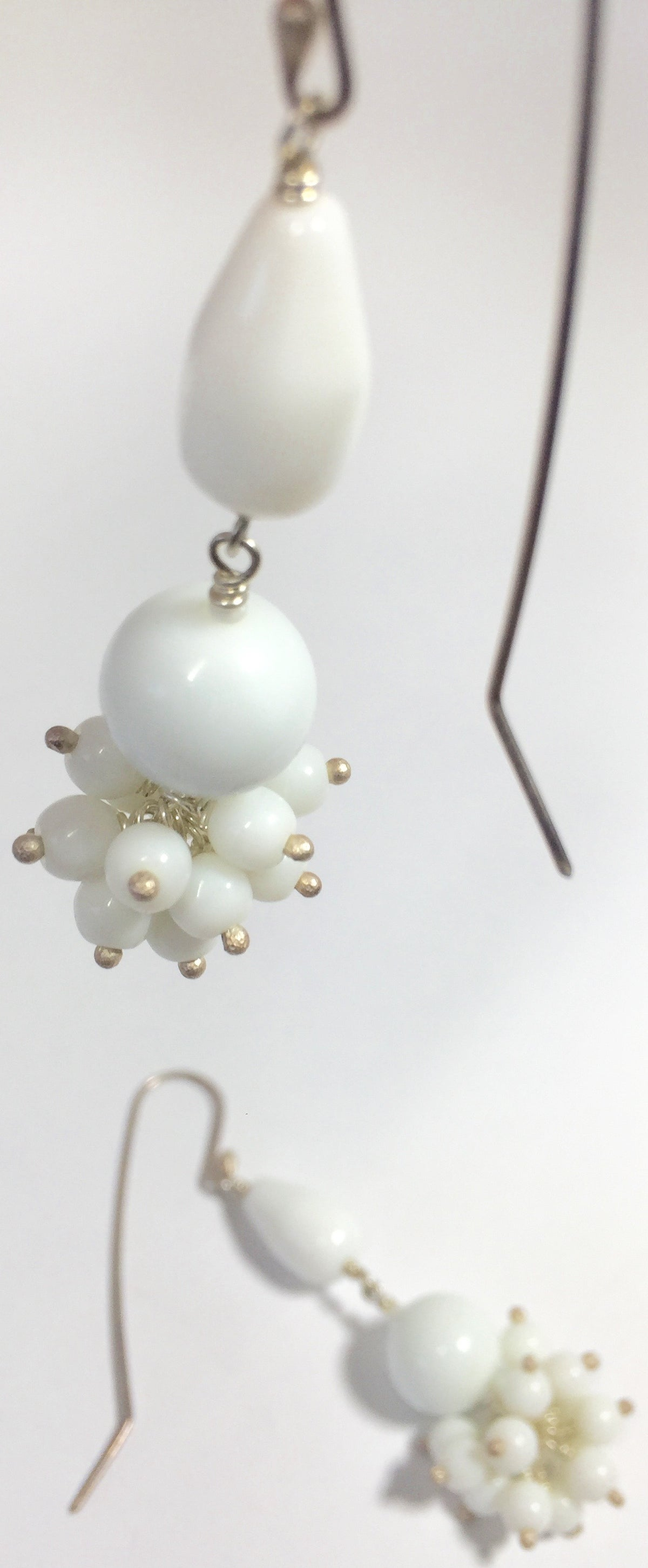 Image of Cluster - double drop - earrings