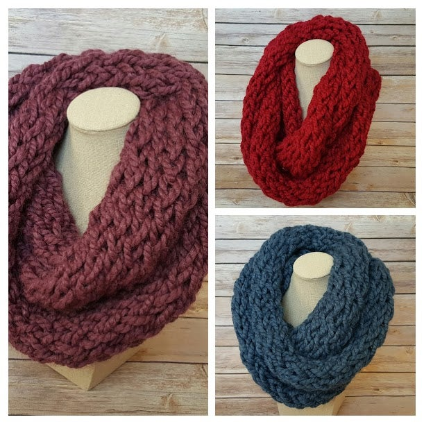 Image of Winter Infinity Scarf