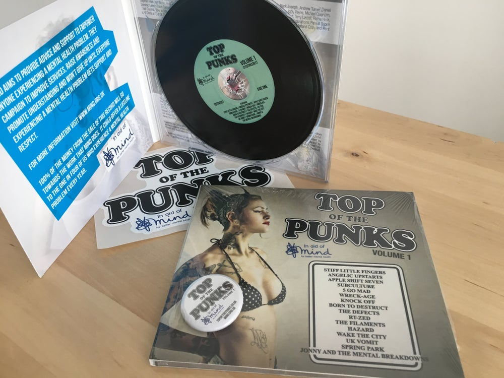 Image of Top Of The Punks - Volume 1 - CD