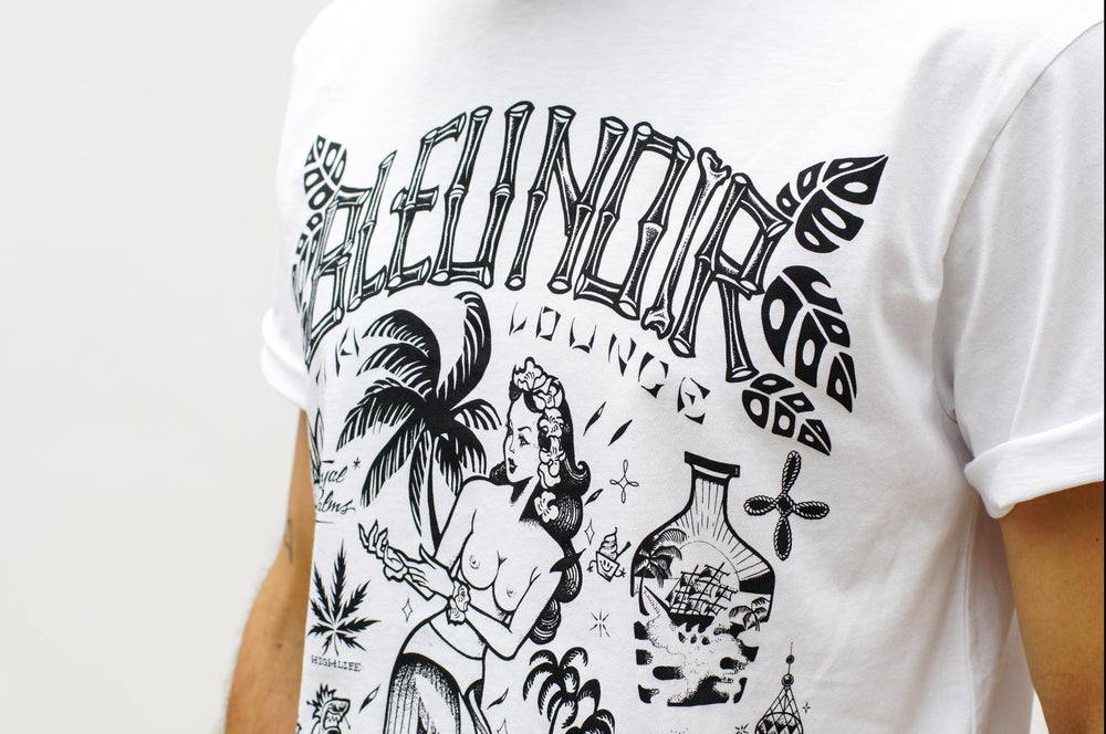 "Image of ""TIKI LOUNGE"" T-shirt"