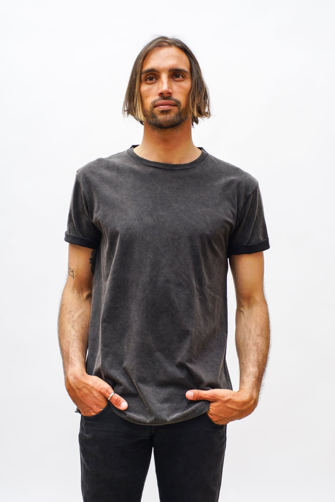 """Image of """"BLACK WASHED"""" T-shirt"""
