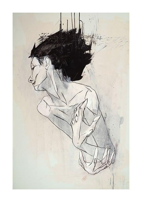 Image of Burden / Erebus - Fine Art Print