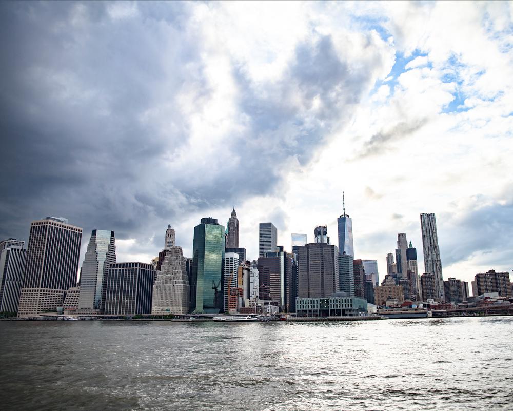 Image of Lower Manhattan City Skyline
