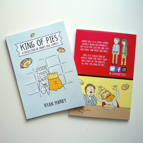 Image of King of Pies - Honey Dill Book