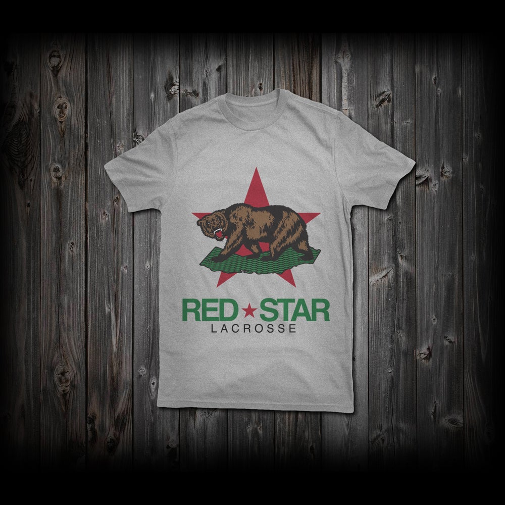 "Image of Red Star ""Cali-Bear"" Tee"