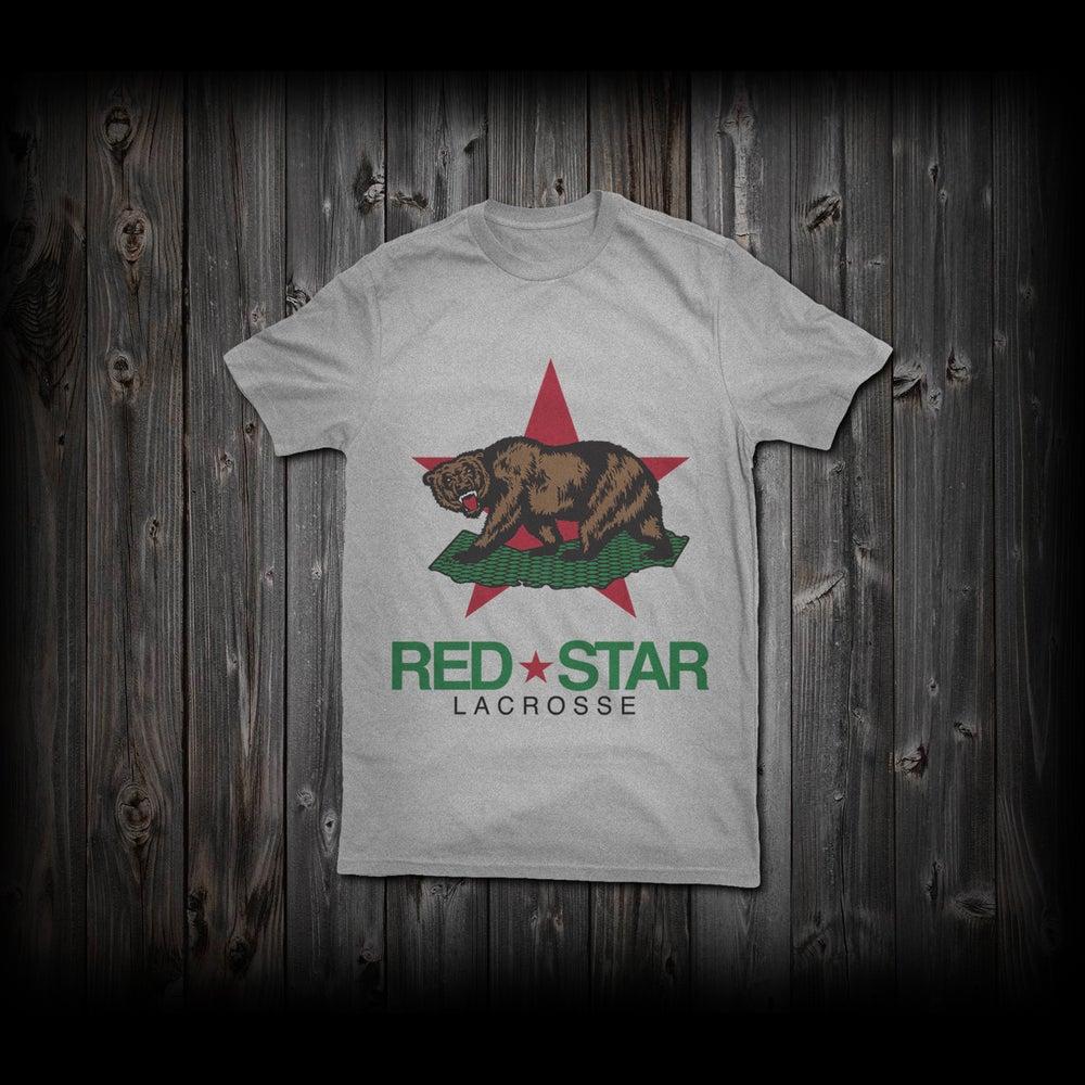 "Image of Red Star ""Cali-Bear"" Tee"