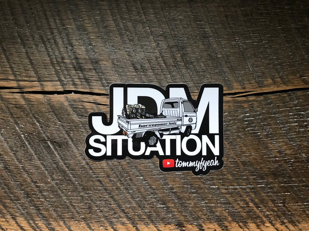 Image of JDM SITUATION sticker