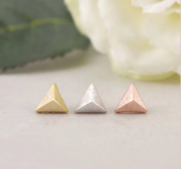 Image of Pyramid earring