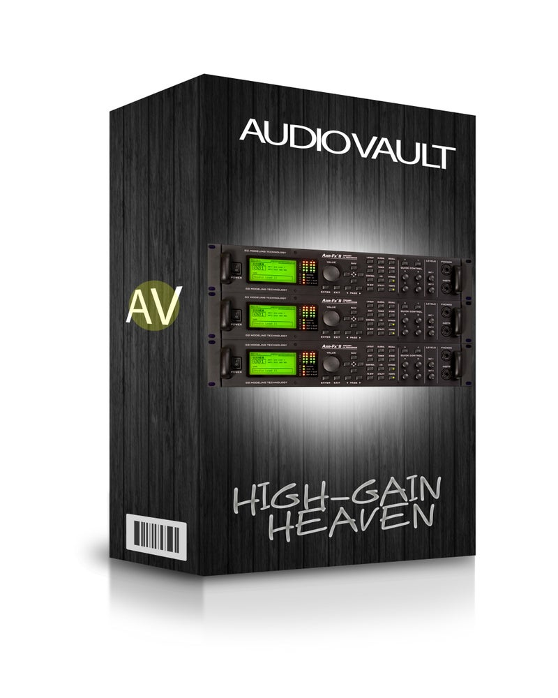 Image of Axe FX II Presets Vol. 1: High-Gain Heaven