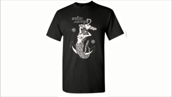 Image of Arliss Nancy Mermaid Shirt
