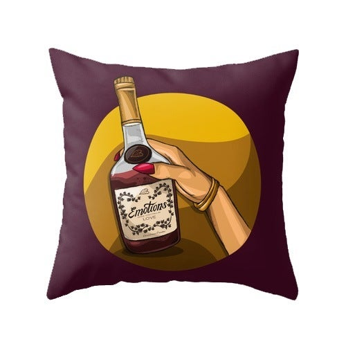 Image of Emotions (Throw Pillow Cover)