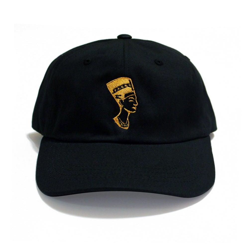 Image of Black Gold Nefertiti (Dad Hat)