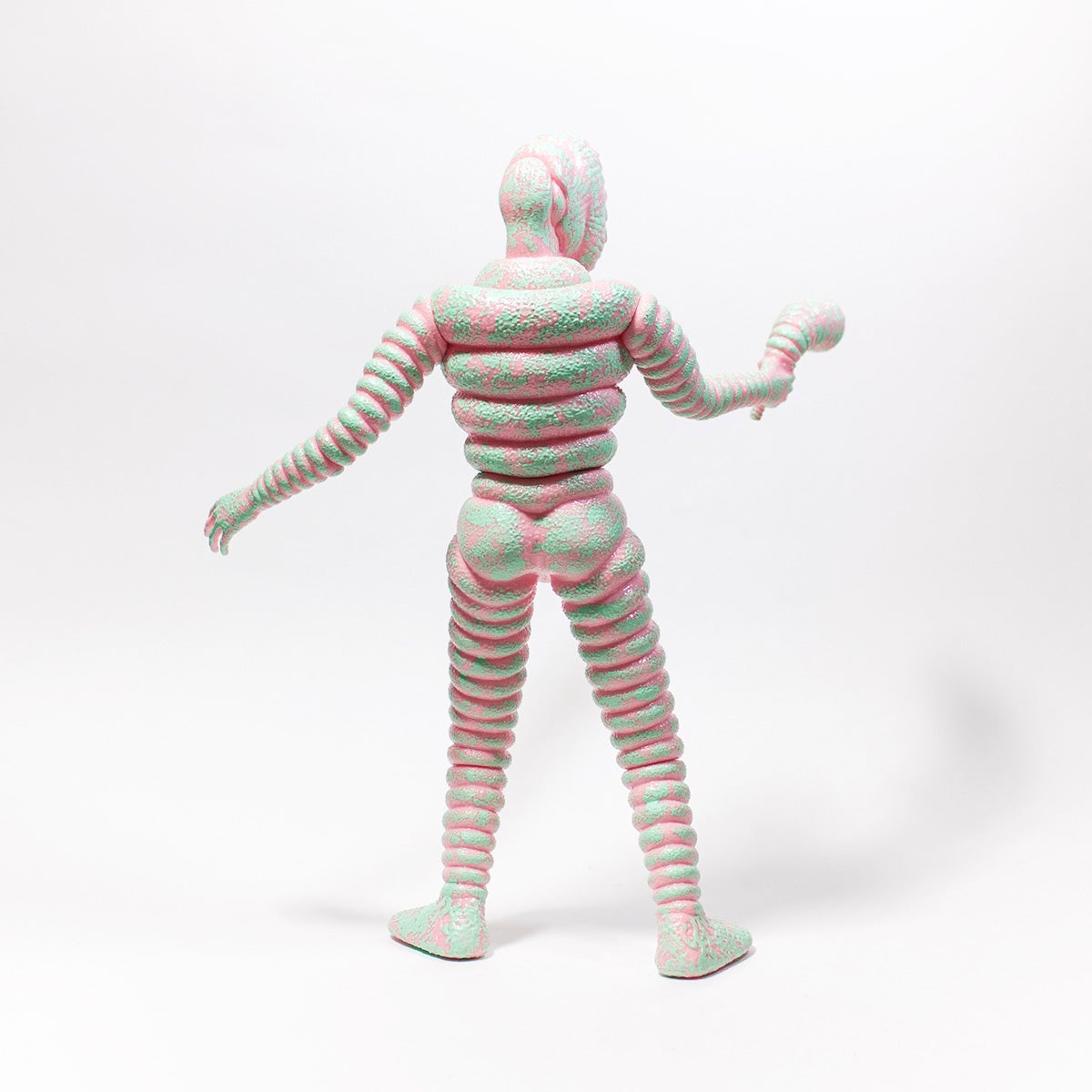 Image of MR ROTTEN DONUTS UNMASKED VINYL FIGURE