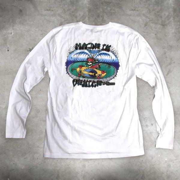 Image of Long Sleeve T-Shirt (White)