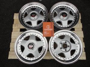 "Image of Genuine MOMO R3 16"" 5x112 3-Piece Split Rim Alloy Wheels"