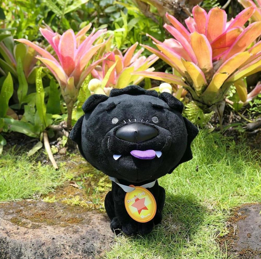 "Image of 8"" Dragon Dog Plush by Martin Hsu"
