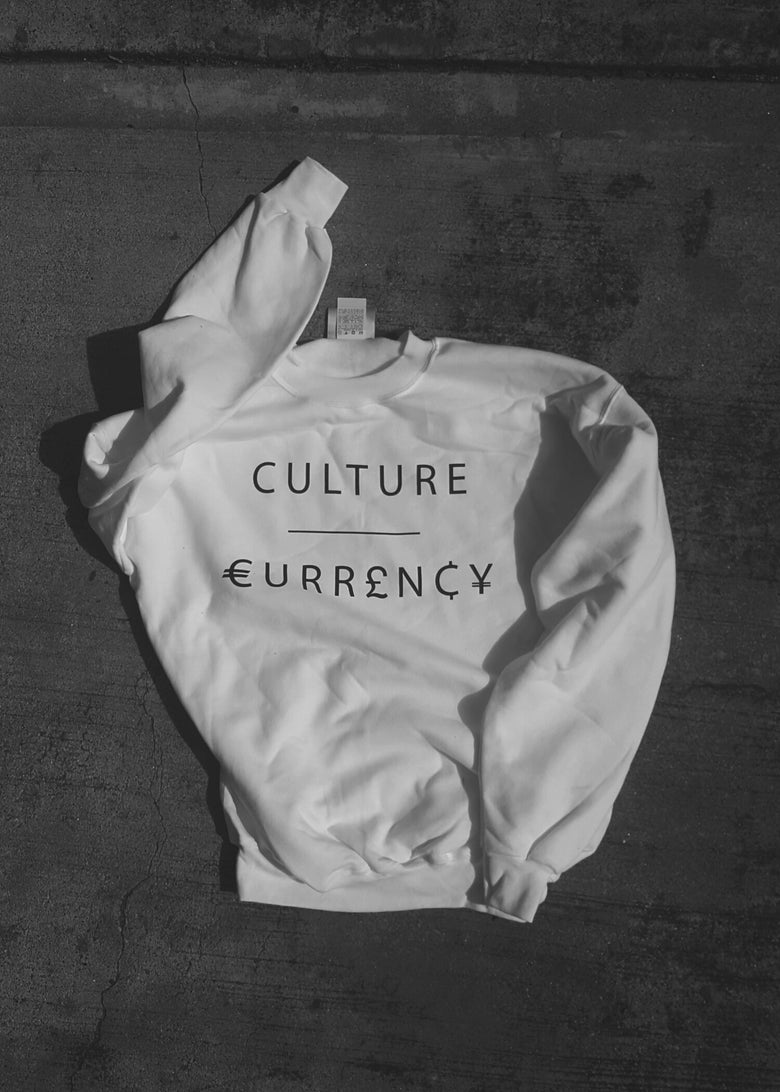 Image of CULTURE / CURRENCY (WHITE)