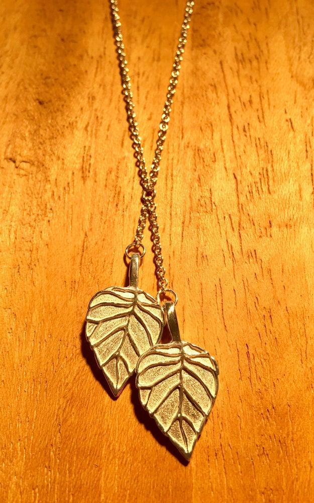 Image of Aspen Leaf Pendant