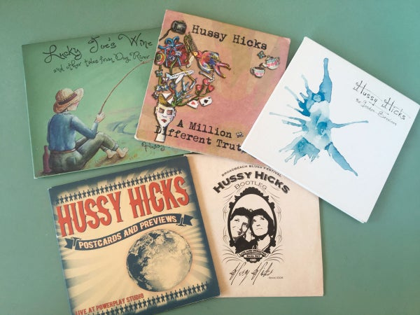 Image of Hussy Hicks CD's
