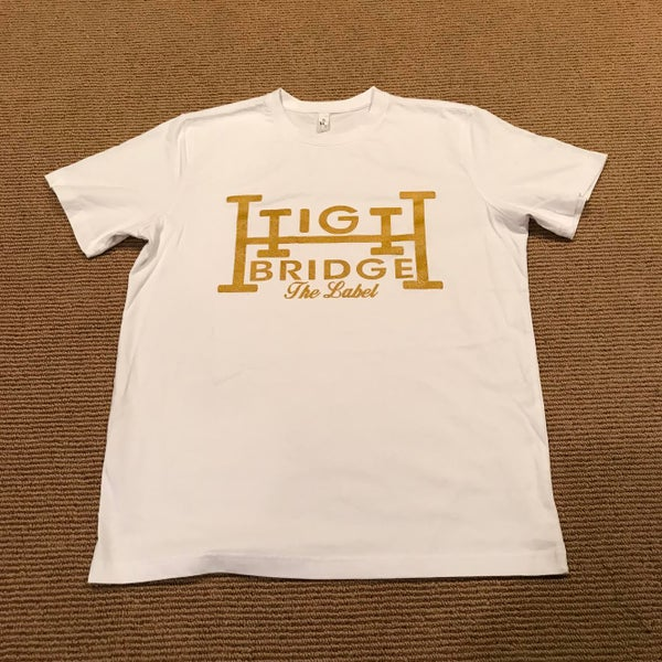Image of White & Gold tee