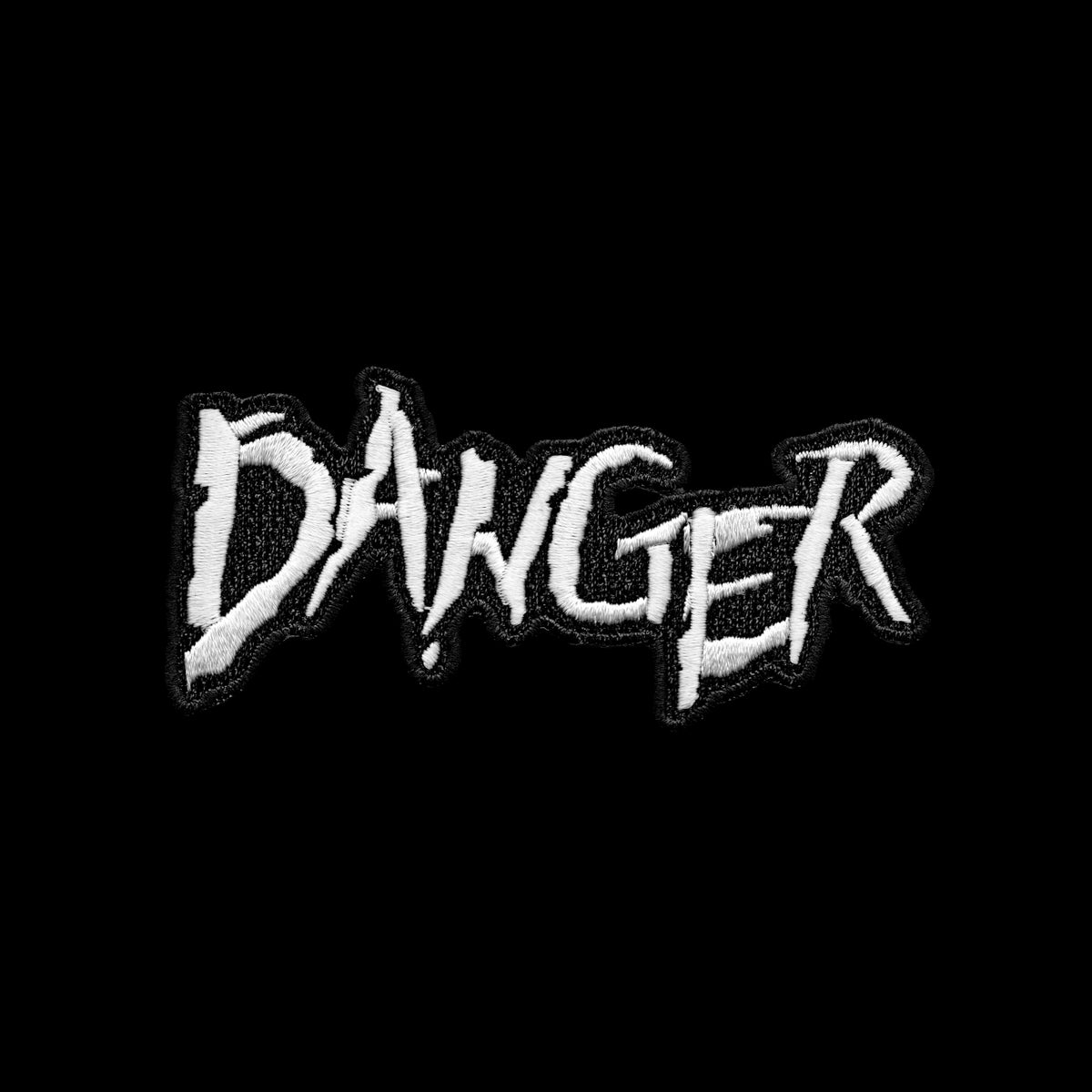 1789 — DANGER Logo Patch