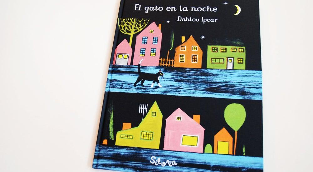 Image of El gato en la noche