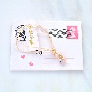 Image of Elephant and palmtree friendship bracelet