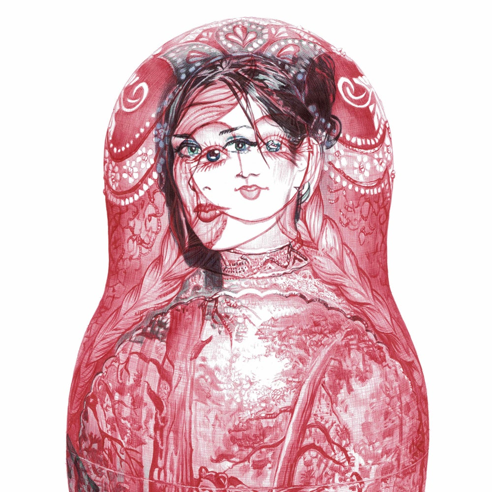 Image of RUSSIAN DOLL LIMITED EDITION PRINT