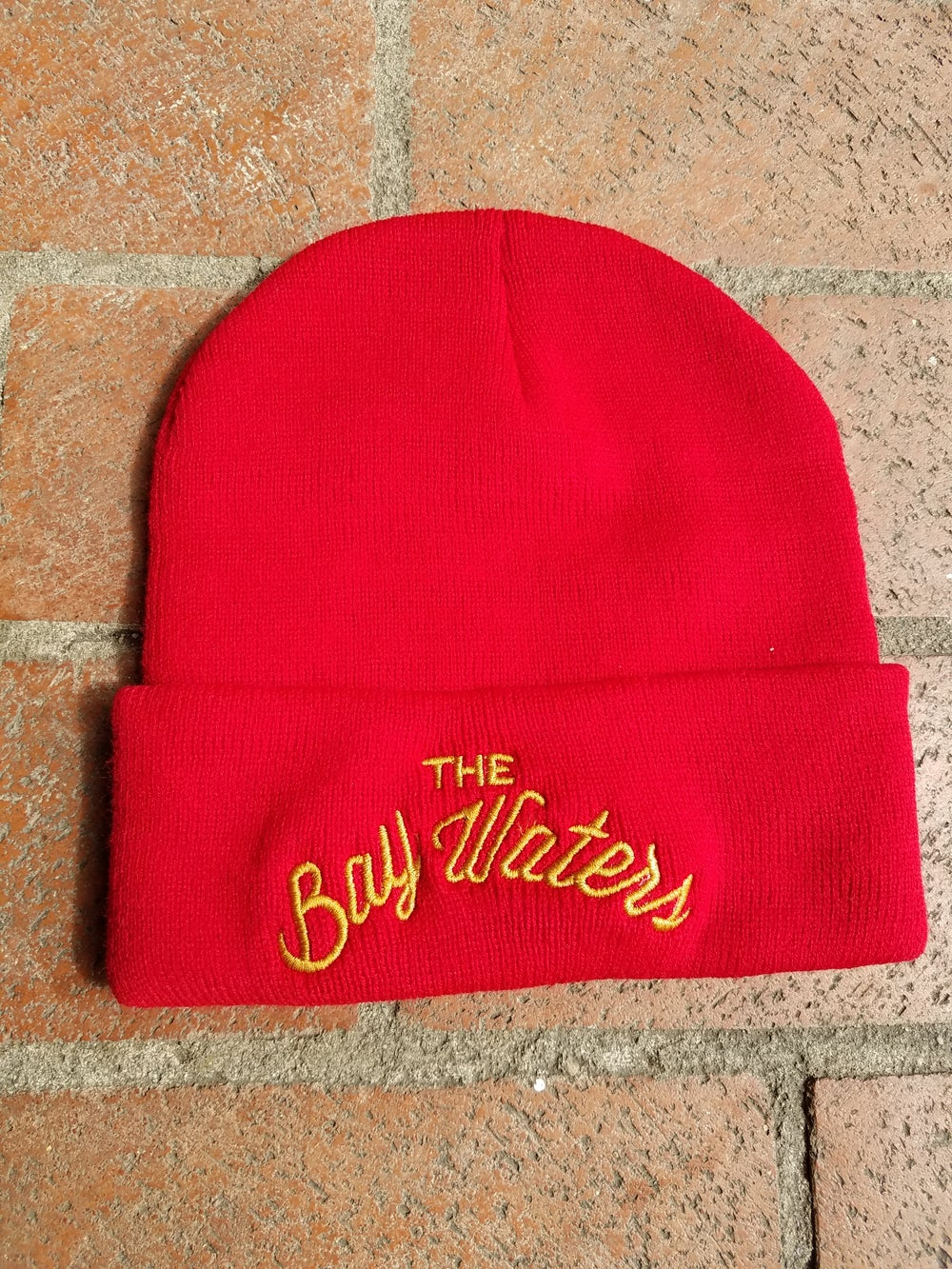 """Image of Bay Waters """"49ers"""" beanie"""