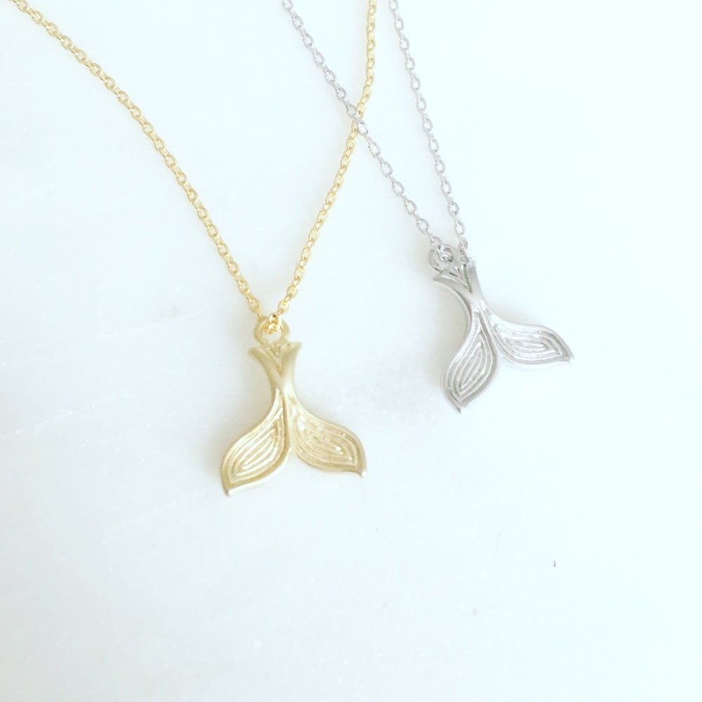 Image of Mermaid tail necklace
