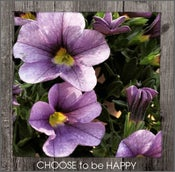 Image of CHOOSE to be HAPPY Framed Statement