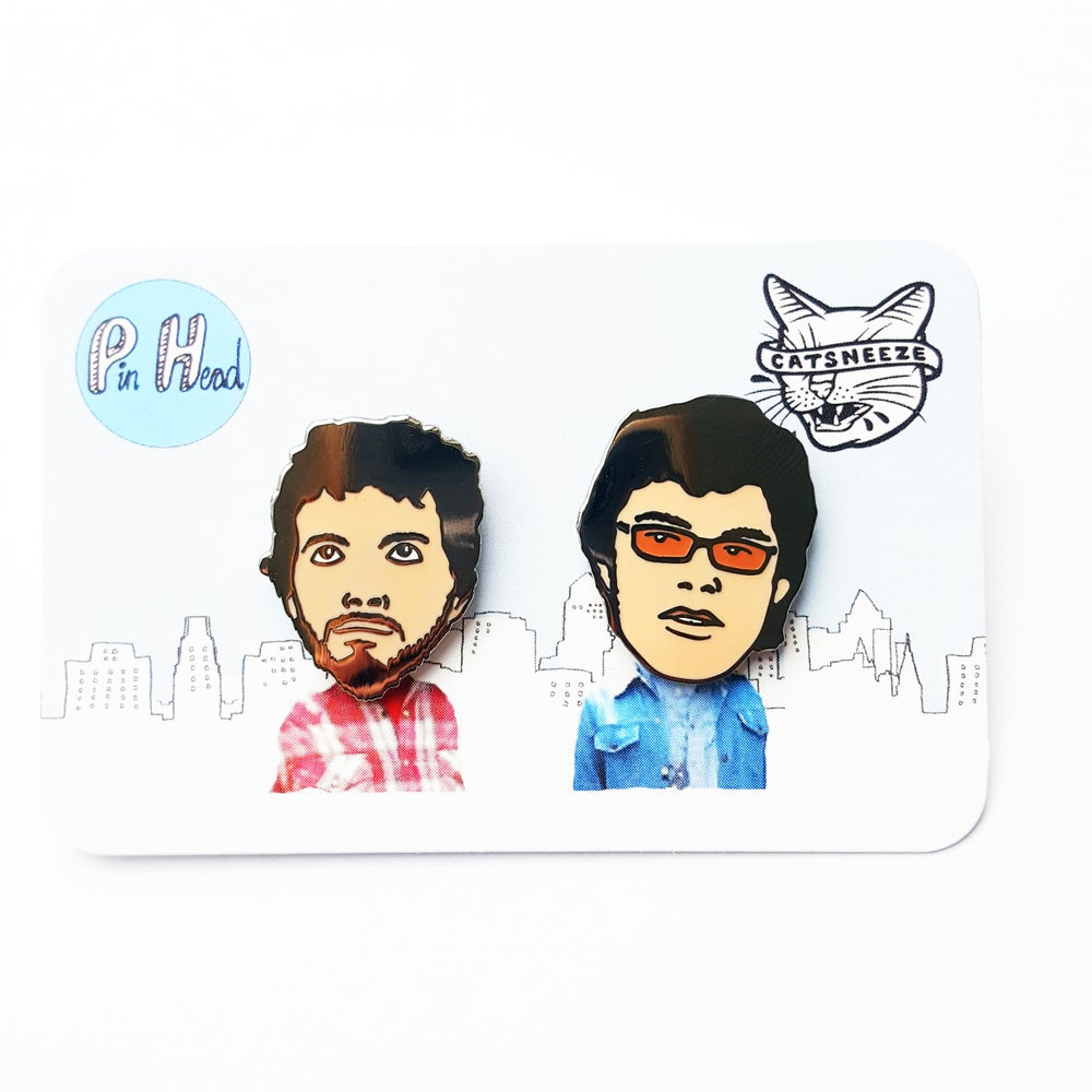 Image of BRET AND JERMAINE PINS, FLIGHT OF THE CONCHORDS