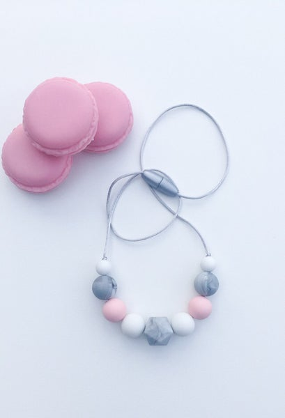 Image of Childrens Silicone Bead Necklace