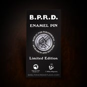 Image of Hellboy/B.P.R.D.: Limited Edition Enamel B.P.R.D. Pin! - SOLD OUT